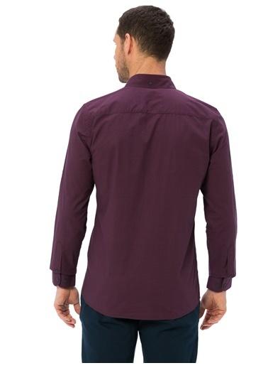 LC Waikiki Uzun Kollu Gömlek Bordo